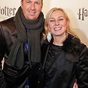 NLD/Utrecht/20101116 - Premiere Harry Potter, Jochem van Gelder, partner Gabrielle Strik