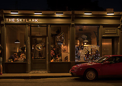 Four years ago a group of friends opened a cafe/bar on Portobello High Street. This weekend The Skylark celebrated its fourth birthday with many of the Portobello residents who have become more than customers to the popular cafe/bar.<br /> The Skylark is owned by Nina Davidson, Paul Lambie, Fraser Butterfield and Duncan Alexander.<br /> <br /> <br /> © Jon Davey/ EEm