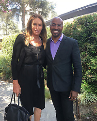 """Caitlyn Jenner releases a photo on Instagram with the following caption: """"Great lunch today with Van Jones. Very smart, very interesting. Great conversation."""". Photo Credit: Instagram *** No USA Distribution *** For Editorial Use Only *** Not to be Published in Books or Photo Books ***  Please note: Fees charged by the agency are for the agency's services only, and do not, nor are they intended to, convey to the user any ownership of Copyright or License in the material. The agency does not claim any ownership including but not limited to Copyright or License in the attached material. By publishing this material you expressly agree to indemnify and to hold the agency and its directors, shareholders and employees harmless from any loss, claims, damages, demands, expenses (including legal fees), or any causes of action or allegation against the agency arising out of or connected in any way with publication of the material."""