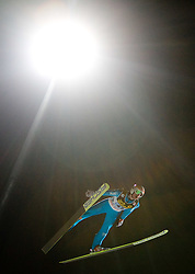 Richard Reichard (GER) competes during First round of the FIS Ski Jumping World Cup event of the 58th Four Hills ski jumping tournament, on January 6, 2010 in Bischofshofen, Austria. (Photo by Vid Ponikvar / Sportida)