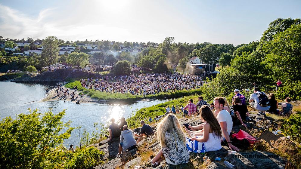 Skral festival 2015 in Grimstad Norway.