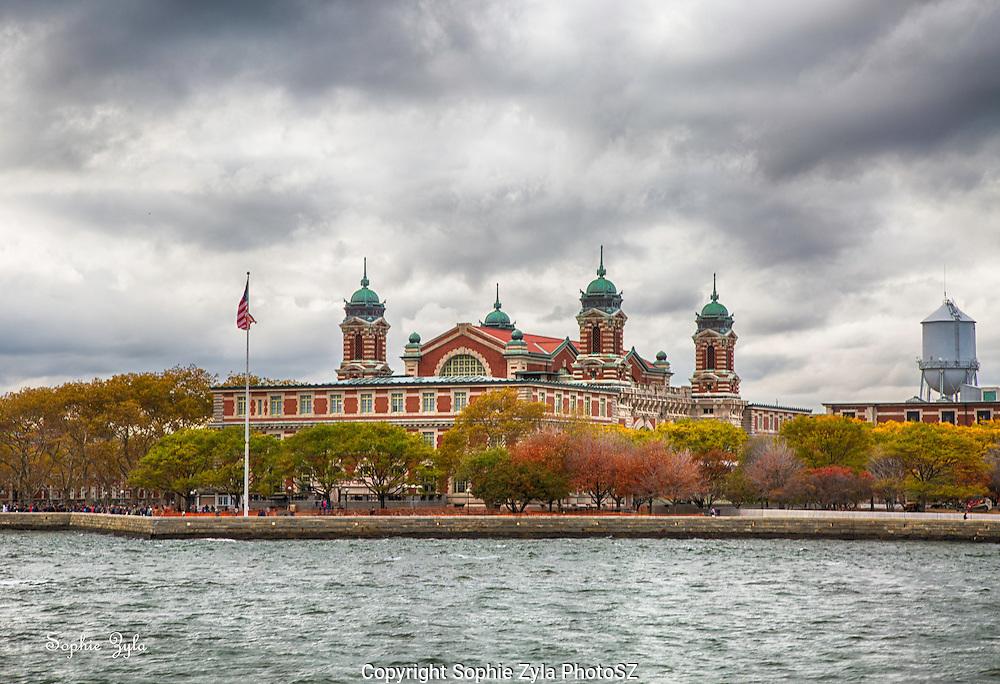 Cruise past Ellis Island Immigration Museum