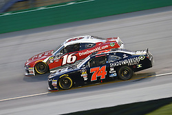 July 13, 2018 - Sparta, Kentucky, United States of America - Ryan Reed (16) and Mike Harmon (74) battle for position during the Alsco 300 at Kentucky Speedway in Sparta, Kentucky. (Credit Image: © Chris Owens Asp Inc/ASP via ZUMA Wire)