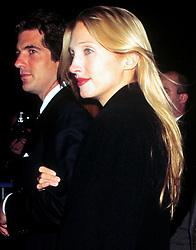 Nov 05, 1997; New York, New York, USA; JOHN F. KENNEDY JR. & CAROLYN BESSETTE KENNEDY at the George Magazine 2nd Anniversary Party.   (Credit Image: © Nancy Kaszerman/ZUMAPRESS.com)
