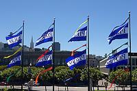 Pier 39 Flags, San Francisco, California