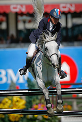 Robert Michel (FRA) - What's Next<br /> Akita Drilling Cup<br /> Spruce Meadows Masters - Calgary 2009<br /> © Dirk Caremans