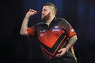 Michael Smith during the World Darts Championships 2018 at Alexandra Palace, London, United Kingdom on 27 December 2018.