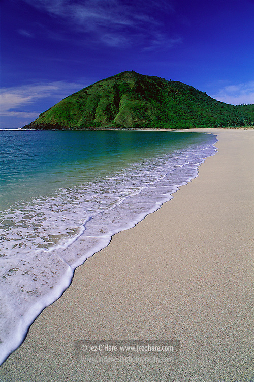Mawun Beach, Lombok, West Nusa Tenggara, Indonesia.