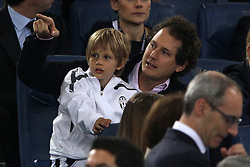 20.05.2012, Stadio Olympico, Rom, ITA, TIM Cup, Juventus Turin vs SSC Neapel, Finale, im Bild John Elkann con il figlio // during the final football match of Italian TIM Cup between Juventus Turin and SSC Neapel at Stadio Olympico, Rome, Italy on 2012/05/20. EXPA Pictures © 2012, PhotoCredit: EXPA/ Insidefoto/ Paolo Nucci..***** ATTENTION - for AUT, SLO, CRO, SRB, SUI and SWE only *****
