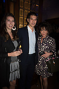 ALYSSA DAVIES; DAVID DAVIES; LADY DAVIES, The Brown's Hotel Summer Party hosted by Sir Rocco Forte and Olga Polizzi, Brown's Hotel. Albermarle St. London. 14 May 2015