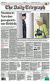 April 01, 2021 (UK): Front-page: Today's Newspapers In United Kingdom