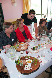 New Zealand, South Island, Nelson, food and wine pairings at Seifried Estate winery prepared by Chef Horst of Petite Fleur restaurant. Photo copyright Lee Foster. Photo #126035