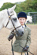 15/08/2013. Launa Horan from Knock Mayo with Moyrath Maureen at the 90th Connemara Pony show in Clifden Co. Galway. Photo:Andrew Downes