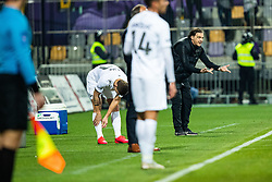 Safet Hadzic head coach of NK Olimpija during football match between NK Maribor and NK Olimpija Ljubljana in Round #21 of Prva liga Telekom Slovenije 2019/20, 22 February, 2020 in Ljudski vrt, Maribor, Slovenia. Photo By Grega Valancic / Sportida