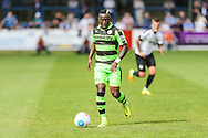 Forest Green Rovers Drissa Traore (4) on the ball during the Vanarama National League match between Dover Athletic and Forest Green Rovers at Crabble Athletic Ground, Dover, United Kingdom on 10 September 2016. Photo by Shane Healey.