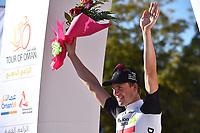 Podium, BOASSON HAGEN Edvald (NOR) Dimension Data, during the 7th Tour of Oman 2016, Stage 5, Yiti (Al Sifah) - Ministry of Tourism (119,5Km) on February 20, 2016 - Photo Tim de Waele / DPPI
