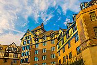Built in 1882, with a Tudor style exterior, Hotel Roanoke, Roanoke, Virginia USA.