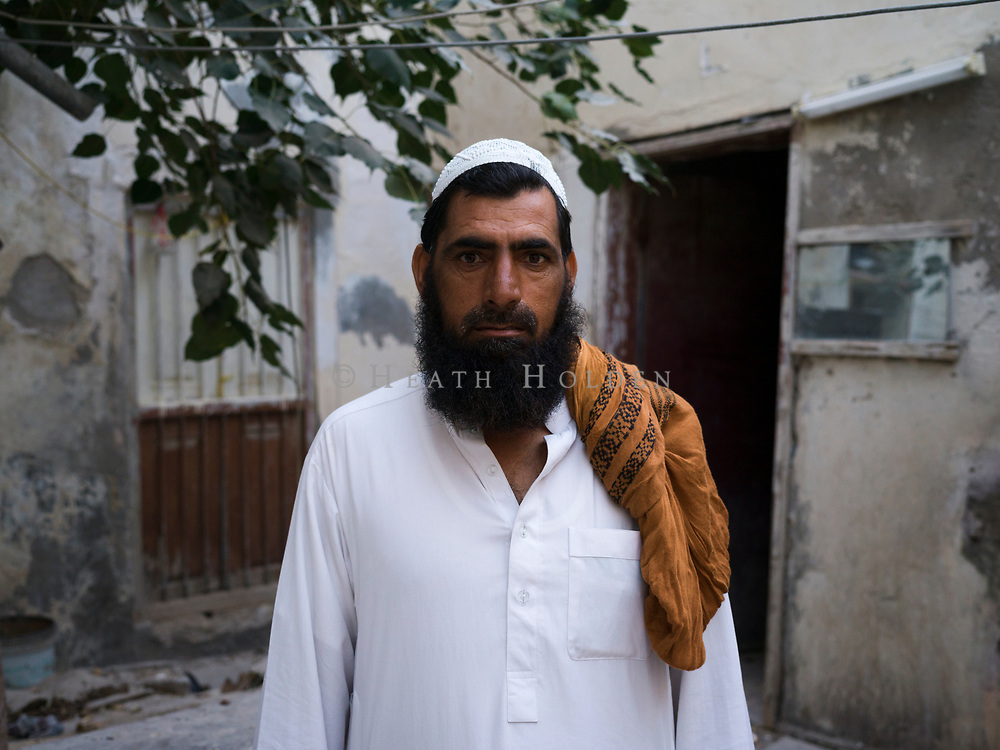 Atmospheric scenes of daily life from some of Doha's older neighbourhoods where the authentic Middle Eastern feel is still intact, for now.Simply known as Wasir, a friendly Pakistani who has lived in the area for a long time stands for a portrait in a soon to be demolished house.