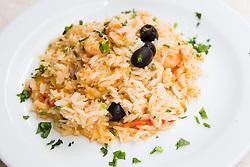 Food at cousine Pri Babici in Ljubljana, Slovenia, on November 18, 2013. Photo by Vid Ponikvar
