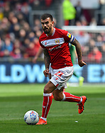 Marlon Pack (21) of Bristol City during the EFL Sky Bet Championship match between Bristol City and Derby County at Ashton Gate, Bristol, England on 27 April 2019.