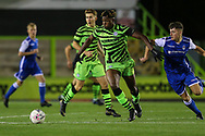 Forest Green Rovers Daniel Ogunleye(35) during the FA Youth Cup match between Forest Green Rovers and Helston Athletic at the New Lawn, Forest Green, United Kingdom on 29 October 2019.