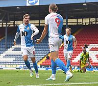 Blackburn Rovers' Joe Rothwell celebrates scoring his equalising goal<br /> <br /> Photographer Dave Howarth/CameraSport<br /> <br /> The EFL Sky Bet Championship - Blackburn Rovers v West Bromwich Albion - Saturday 11th July 2020 - Ewood Park - Blackburn <br /> <br /> World Copyright © 2020 CameraSport. All rights reserved. 43 Linden Ave. Countesthorpe. Leicester. England. LE8 5PG - Tel: +44 (0) 116 277 4147 - admin@camerasport.com - www.camerasport.com
