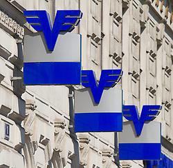 THEMENNBILD, Wien Österreich, Die Volksbank ist eine österreichische Bank mit Sitz in Wien. im Bild drei Symbole der Volksbank. //THEME IMAGE, FEATURE, The Volksbank is an Austrian bank with headquarters in Vienna. picture shows three symbols of the Volksbank. EXPA Pictures © 2012, PhotoCredit: EXPA/ Sebastian Pucher