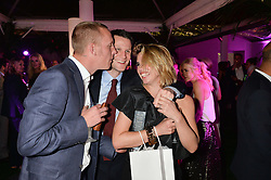 Left to right, LAURENCE FOX, MATT SMITH  and BILLIE PIPER at the Glamour Women of The Year Awards in Association with Next held in Berkeley Square Gardens, Berkeley Square, London on 3rd June 2014.