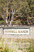 Foothill Ranch Monument in Lake Forest