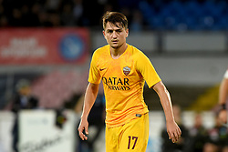 October 28, 2018 - Naples, Naples, Italy - Cengiz Under of AS Roma during the Serie A TIM match between SSC Napoli and AS Roma at Stadio San Paolo Naples Italy on 28 October 2018. (Credit Image: © Franco Romano/NurPhoto via ZUMA Press)
