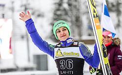 19.02.2016, Salpausselkae Schanze, Lahti, FIN, FIS Weltcup Ski Sprung, Lahti, Damen, im Bild Maja Vtic (SLO, 2. Platz) // 2nd placed Maja Vtic of Slovenia during Ladies FIS Skijumping World Cup of the Lahti Ski Games at the Salpausselkae Hill in Lahti, Finland on 2016/02/19. EXPA Pictures © 2016, PhotoCredit: EXPA/ JFK