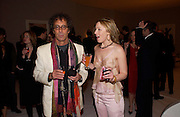 Peter Adler and Jaymie Stephens. The Moet & Chandon Fashion Tribute 2005 to Matthew Williamson,  Old Billingsgate market, London. 16th February 2005. ONE TIME USE ONLY - DO NOT ARCHIVE  © Copyright Photograph by Dafydd Jones 66 Stockwell Park Rd. London SW9 0DA Tel 020 7733 0108 www.dafjones.com