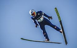 30.09.2018, Energie AG Skisprung Arena, Hinzenbach, AUT, FIS Ski Sprung, Sommer Grand Prix, Hinzenbach, im Bild Markus Rupitsch (AUT) // Markus Rupitsch of Austria during FIS Ski Jumping Summer Grand Prix at the Energie AG Skisprung Arena, Hinzenbach, Austria on 2018/09/30. EXPA Pictures © 2018, PhotoCredit: EXPA/ JFK
