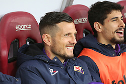 March 18, 2018 - Turin, Piedmont, Italy - Cyril Thereau (ACF Fiorentina) before the Serie A football match between Torino FC and ACF Fiorentina at Olympic Grande Torino Stadium on 18 March, 2018 in Turin, Italy. Final results: 1-2  (Credit Image: © Massimiliano Ferraro/NurPhoto via ZUMA Press)
