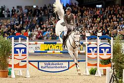 Kukuk Christian, (GER), Cordess 2<br /> Grand Prix <br /> FEI World Cup Neumünster - VR Classics 2017<br /> © Hippo Foto - Stefan Lafrentz