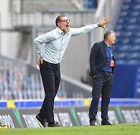 West Bromwich Albion's Manager Slaven Bilic Shouts to his team during the game<br /> <br /> Photographer Dave Howarth/CameraSport<br /> <br /> The EFL Sky Bet Championship - Blackburn Rovers v West Bromwich Albion - Saturday 11th July 2020 - Ewood Park - Blackburn <br /> <br /> World Copyright © 2020 CameraSport. All rights reserved. 43 Linden Ave. Countesthorpe. Leicester. England. LE8 5PG - Tel: +44 (0) 116 277 4147 - admin@camerasport.com - www.camerasport.com