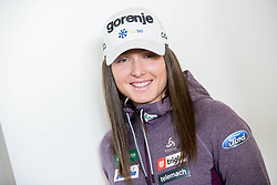 Eva Urevc during press conference of Slovenian Nordic Ski team before new season 2017/18, on November 14, 2017 in Gorenje, Ljubljana - Crnuce, Slovenia. Photo by Vid Ponikvar / Sportida