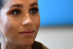 Meghan Markle, The Duchess of Sussex, visits Smart Works, a charity which helps long term unemployed and vulnerable women regain the skills, confidence and tools to return to employment and transform their lives, at St Charles Hospital, in London, UK, on the 10th January 2019. Picture by Clodagh Kilcoyne/WPA-Pool. 10 Jan 2019 Pictured: Meghan Markle, Duchess of Sussex. Photo credit: MEGA TheMegaAgency.com +1 888 505 6342