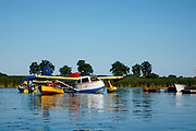 Republic Seabee  being towed at the Seaplane base, Airventure 2017.