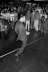 File photo dated 29/03/85 of the Prince of Wales trying his hand at breakdancing, to the delight of youngsters at a discotheque session at Middleton-on-Sea, during a visit to a Youth Meets Industry course for 300 unemployed, organised by the Prince's Trust.