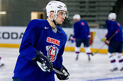Bostjan Golicic during practice session of Slovenian National Ice Hockey team first time in Arena Stozice before 2012 IIHF World Championship DIV I Group A in Slovenia, on April 13, 2012, in Arena Stozice, Ljubljana, Slovenia. (Photo by Vid Ponikvar / Sportida.com)