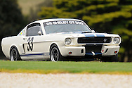 Ian Ross - Group Sb - Shelby GT 350.Historic Motorsport Racing - Phillip Island Classic.18th March 2011.Phillip Island Racetrack, Phillip Island, Victoria.(C) Joel Strickland Photographics.Use information: This image is intended for Editorial use only (e.g. news or commentary, print or electronic). Any commercial or promotional use requires additional clearance.