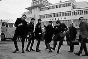 Beatles arrive at Dublin Airport.01.11.1963