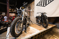 Custom Ducati by Revival Motorcycles on Saturday at the Handbuilt Motorcycle Show. Austin, TX. April 11, 2015.  Photography ©2015 Michael Lichter.