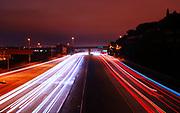 500px Photo ID: 4411065 - 280 freeway into san francisco, long exposure