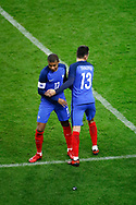 Exchange Kylian Mbappe (FRA) by Florian Thauvin (FRA) during the 2017 Friendly Game football match between France and Wales on November 10, 2017 at Stade de France in Saint-Denis, France - Photo Stephane Allaman / ProSportsImages / DPPI