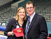 Abigail Taylor of Sinclair Elementary, pictured with Houston ISD superintendent Terry Grier, is one of the district's First Year Principals of the Year.