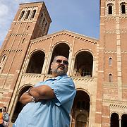 Alfred R. Herrera, Assistant Vice Provost for Academic Partnerships, on the UCLA campus in Los Angeles.