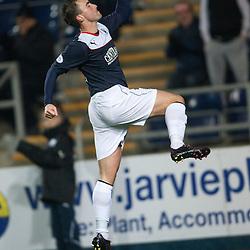 Falkirk 4 v 0 Cowdenbeath, Scottish Championship game at the Falkirk Stadium.