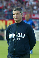 Empoli 21-04-2005<br />Campionato di calcio serie b 2004-05 Empoli Genoa<br />Nella foto Allenatore Somma<br />Foto Snapshot / Graffiti